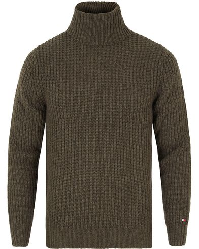 Tommy Hilfiger Fayo Knitted Rollneck Rosin Heather