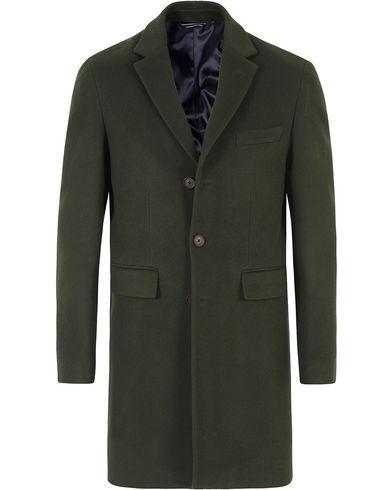 GANT The Harrison Overcoat Pine Green