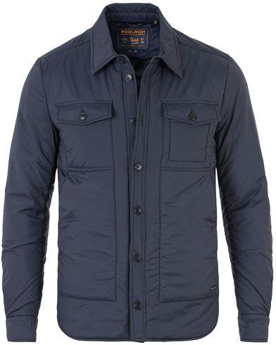 Woolrich Comfort Shirt Jacket Navy