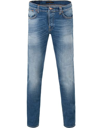 Nudie Jeans Grim Tim Organic Slim Fit Stretch Jeans Orange C