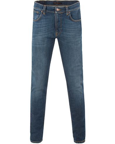 Nudie Jeans Lean Dean Organic Slim Fit Stretch Jeans Mellow O i gruppen Klær / Jeans hos Care of Carl (13452211r)