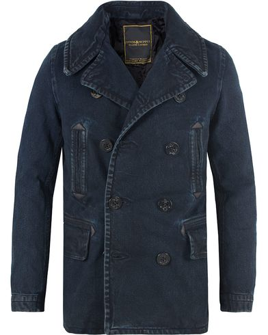 Denim & Supply Ralph Lauren Peacoat Denim Jacket Blue