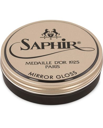 Saphir Medaille d'Or Mirror Gloss 75ml Black  i gruppen Sko / Skopleie / Skopleieprodukter hos Care of Carl (13478010)