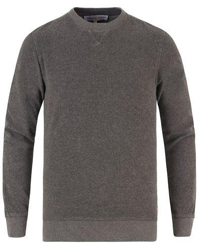 Orlebar Brown Pierce Toweling Sweater Fossil Melange