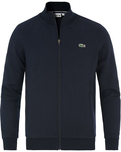 Lacoste Zip Trough Sweatshirt Marine i gruppen Klær / Gensere / Zip-gensere hos Care of Carl (13504611r)