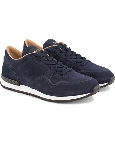 Tod's Active Running Sneaker Navy Suede