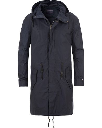 Tommy Hilfiger Br-Spencer Fish Tail Parka Peacoat Blue