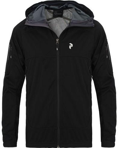 Peak Performance Aneto Soft Shell Hooded Jacket Black