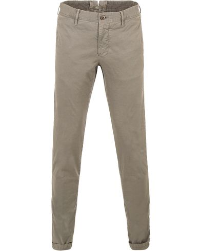Incotex Slim Fit Stretch Slacks Grey
