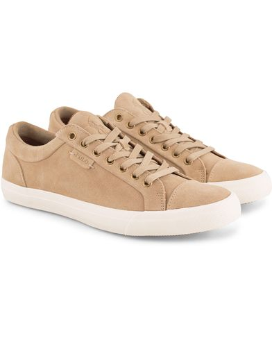 Polo Ralph Lauren Geffrey Suede Sneaker Tan