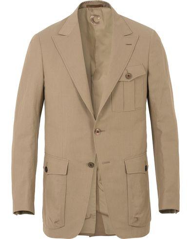 Caruso Caruso Safari Jacket Stone