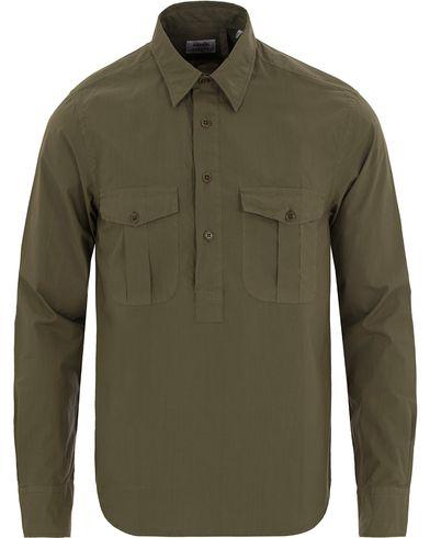 Aspesi Popover Pocket Shirt Army Green