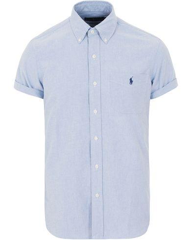 Polo Ralph Lauren Core Fit Oxford Short Sleeve Shirt Blue