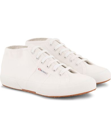 Superga Canvas High Sneaker White