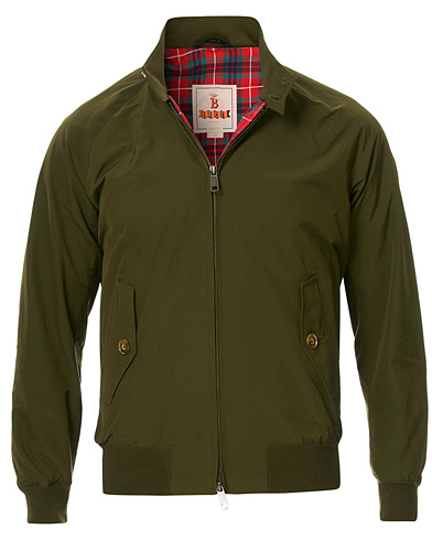 Baracuta G9 Original Harrington Jacket Beech i gruppen Klær / Jakker / Tynne jakker hos Care of Carl (13664211r)