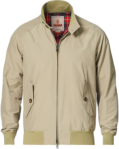 Baracuta G9 Original Harrington Jacket Natural i gruppen Klær / Jakker / Tynne jakker hos Care of Carl (13664311r)