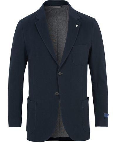 GANT Weekender Fit Cotton Pique Blazer Navy