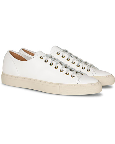 Buttero Sneaker White Calf i gruppen Sko / Sneakers / Sneakers med lavt skaft hos Care of Carl (13692111r)