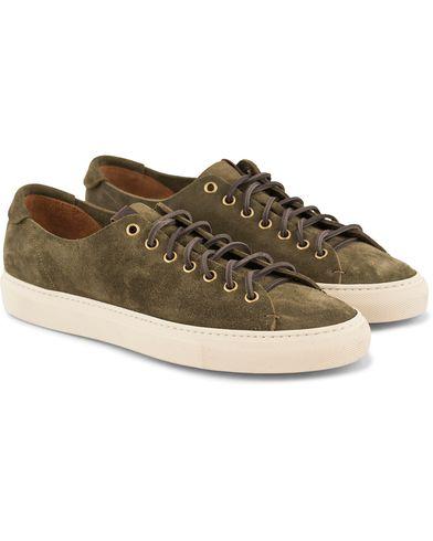 Buttero Sneaker Army Green Suede