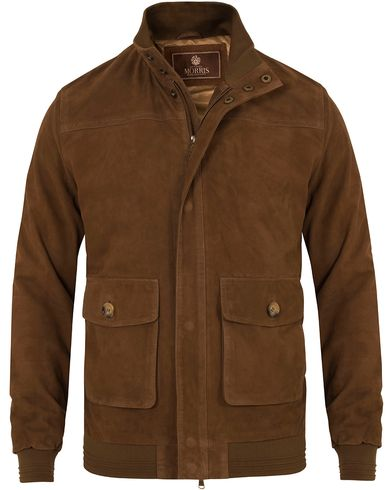 Morris Heritage Suede Jacket Brown