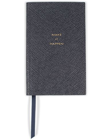 Smythson Panama Notebook Navy