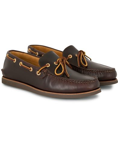 Sperry Top-sider Leather Boat Shoe Amaretto
