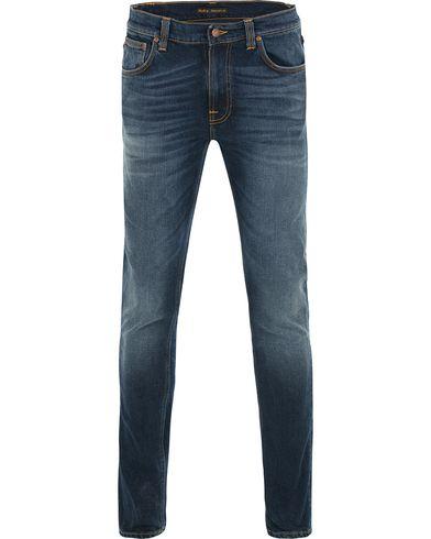 Nudie Jeans Lean Dean Organic Slim Fit Stretch Jeans Ink Navy
