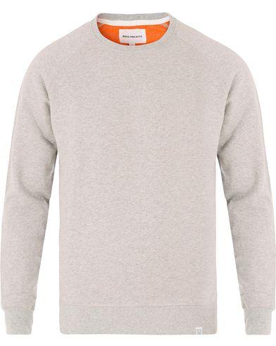 Norse Projects Ketel Double Faced Sweatshirt Light Grey Melange