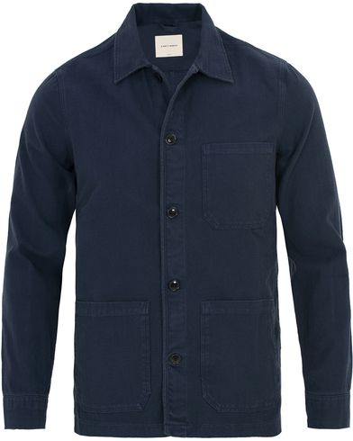 A Day's March Overshirt Navy i gruppen Klær / Jakker / Tynne jakker hos Care of Carl (13825911r)