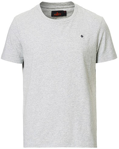 Morris James Crew Neck Tee Grey Melange i gruppen Klær / T-Shirts / Kortermede t-shirts hos Care of Carl (13831711r)