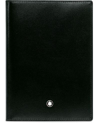 Montblanc MST Business Card Holder Gusset Black