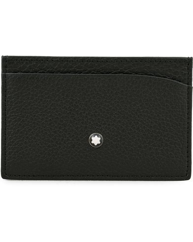 Montblanc Pocket 3 Credit Card Holder Black  i gruppen Assesoarer / Lommebøker / Kortholdere hos Care of Carl (14008910)