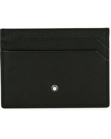 Montblanc Sartorial Pocket 5 Credit Card Holder Black  i gruppen Assesoarer / Lommebøker / Kortholdere hos Care of Carl (14009310)