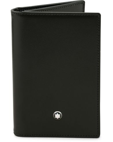 Montblanc MST Business Card Holder Black  i gruppen Assesoarer / Lommebøker / Kortholdere hos Care of Carl (14009510)