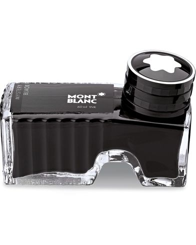 Montblanc Ink Bottle 60ml Mystery Black  i gruppen Assesoarer / Livsstil / Penner hos Care of Carl (14011510)