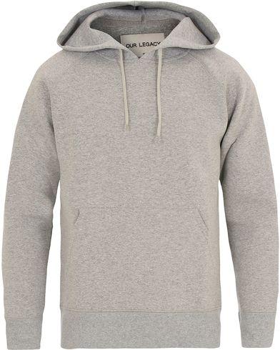 Our Legacy Single Hood Grey Melange Scuba