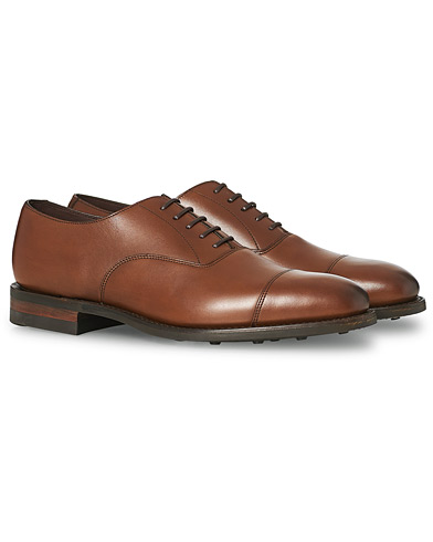 Loake 1880 Aldwych Single Dainite Oxford Brown Calf i gruppen Sko / Oxfords hos Care of Carl (14050711r)