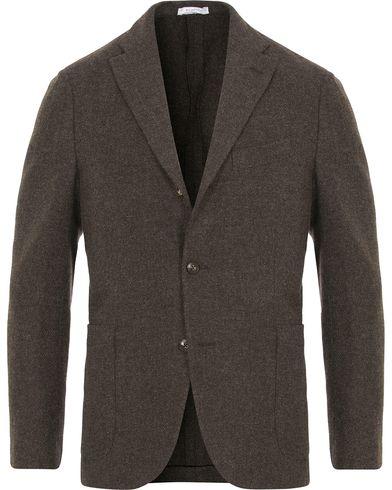 Boglioli K Jacket Structured Wool Blazer Brown