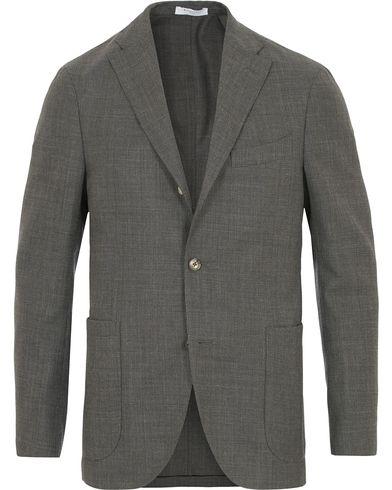 Boglioli K Jacket Wool Blazer Dark Grey