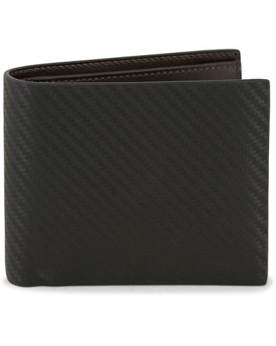 Dunhill Embossed Chassis Leather Billfold Black