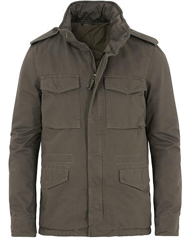 Aspesi Cotton Field Jacket Olive