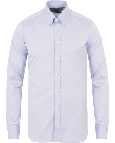 Turnbull & Asser Slim Fit Button Down Oxford Shirt Light Blue