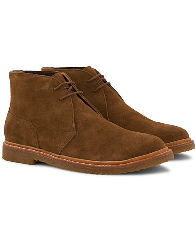 Polo Ralph Lauren Karlyle Chukka Boot New Snuff Suede