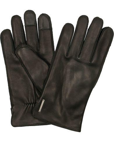 Tiger of Sweden Wandalus Calf Leather Gloves Black