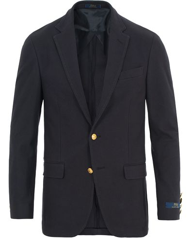 Polo Ralph Lauren Knit Mesh Blazer Navy