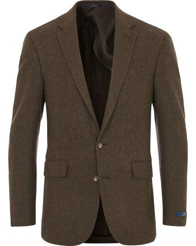 Polo Ralph Lauren Clothing 1 Herringbone Wool Brown