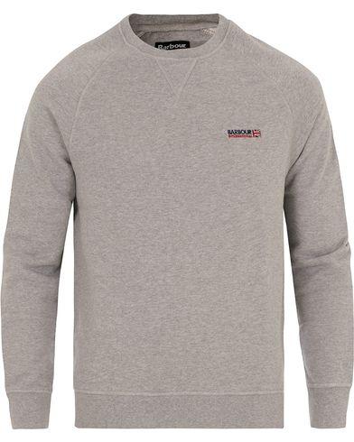 Barbour International Indicator Crew Neck Sweater Grey Marl