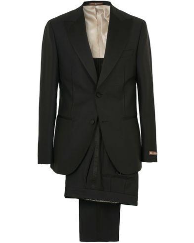 Morris Heritage Mike Peak Lapel Tuxedo Black