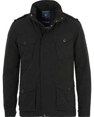 GANT The Field Tech Jacket Black