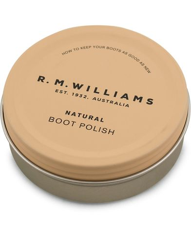 R.M.Williams Boot Stockman Polish  Natural 70ML   i gruppen Sko / Skopleie / Skopleieprodukter hos Care of Carl (14257410)